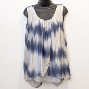 2/$20 Alice Rinaldi silk sleeveless blouse